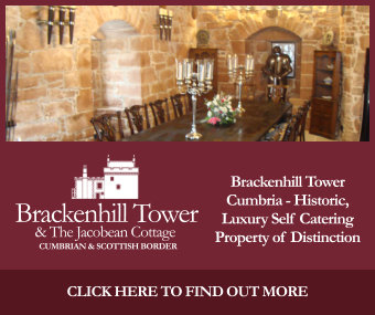 Brackenhill Tower Cumbria – Historic, luxury self catering property of distinction ideal for wedding couples and parties