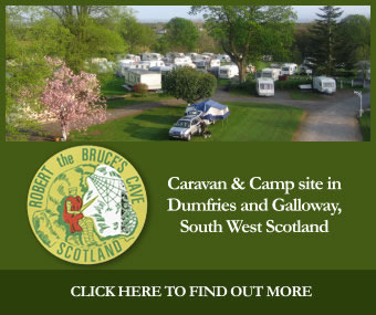 Bruce's Cave Caravan and Camp Site Dumfries and Galloway